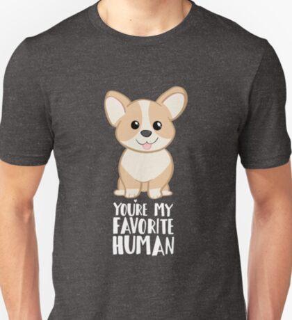 CORGI - DOG - You're my favorite person T-Shirt