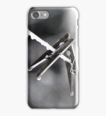 Épingles à linges iPhone Case/Skin