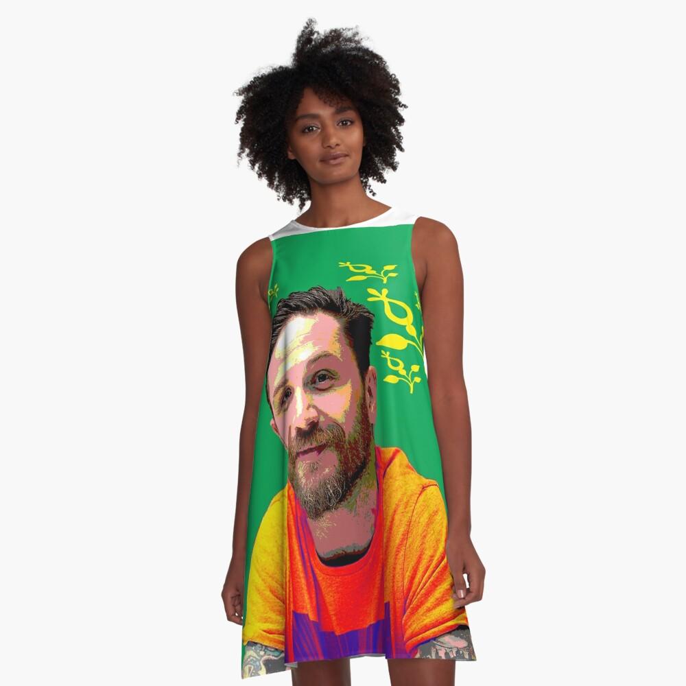 Tom Hardy xxx A-Linien Kleid