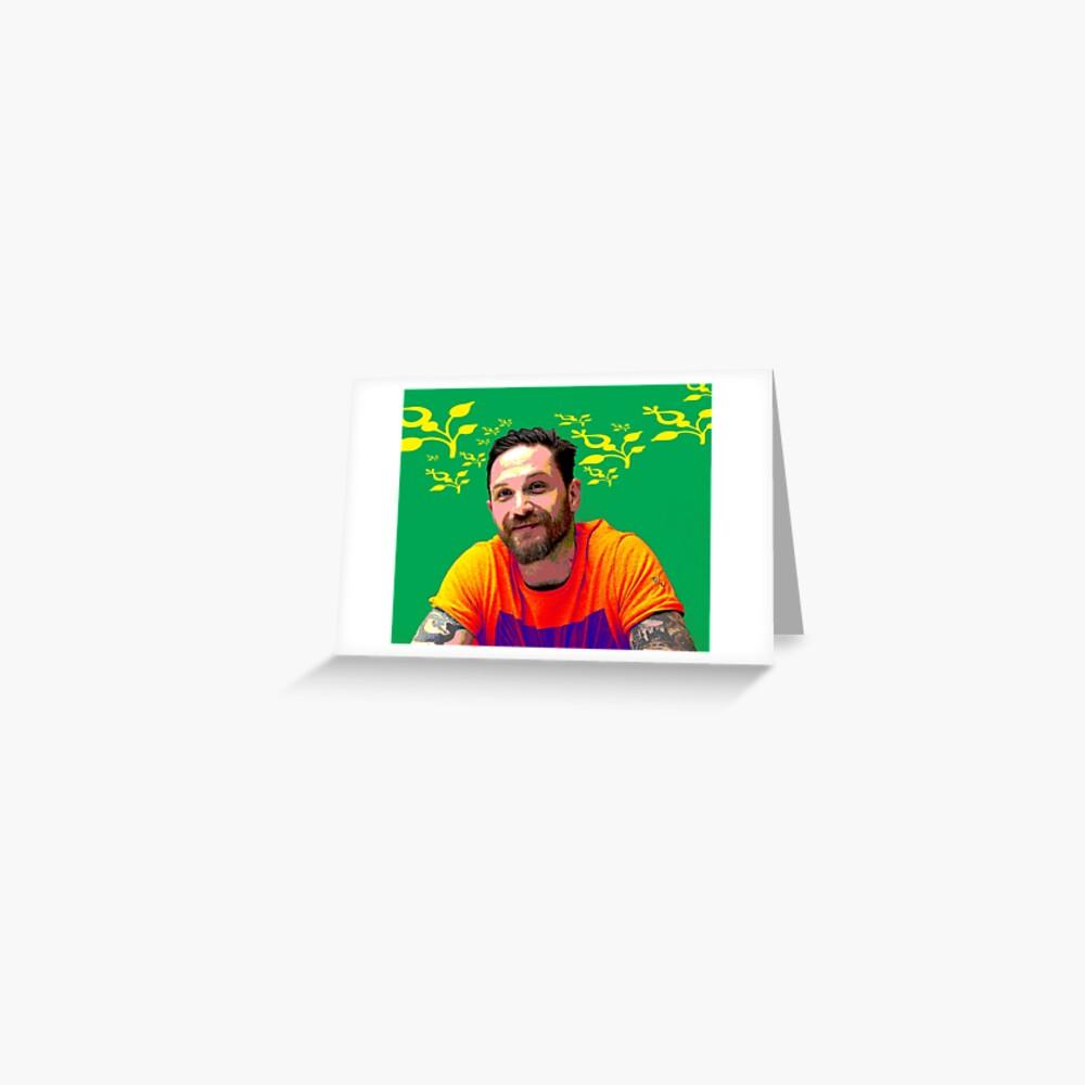 Tom Hardy xxx Grußkarte