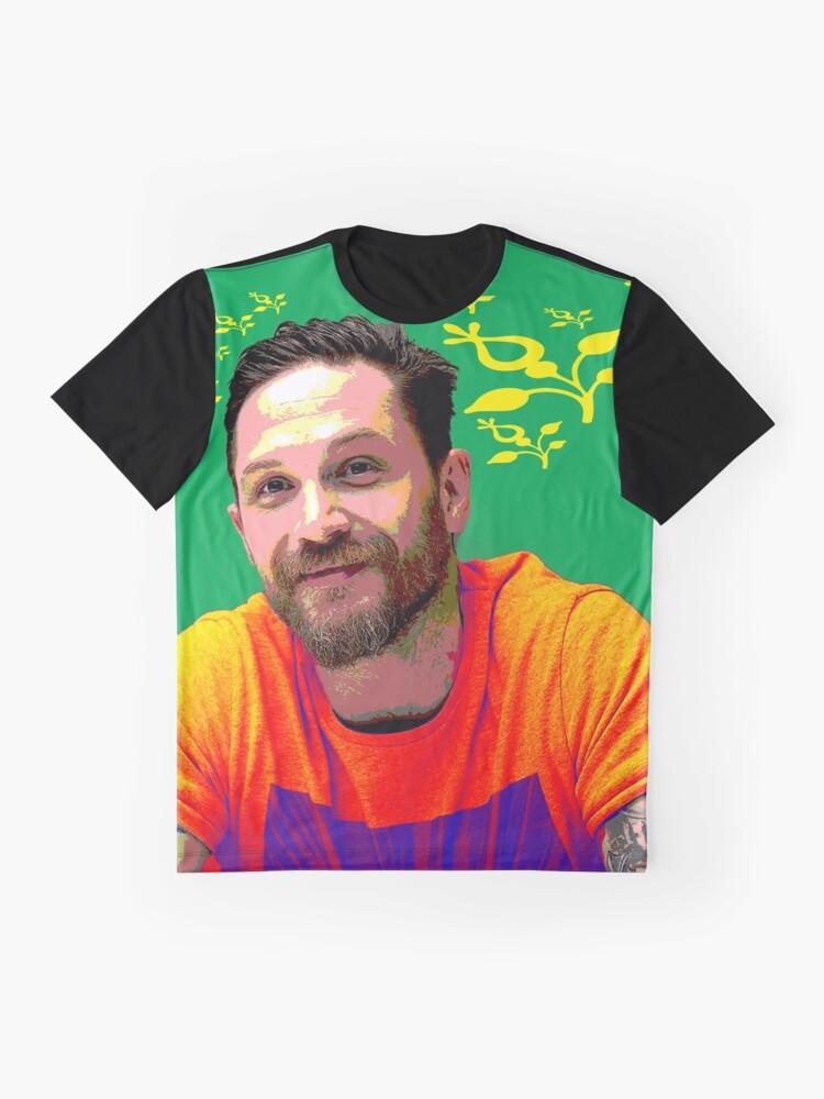Alternative Ansicht von Tom Hardy xxx Grafik T-Shirt
