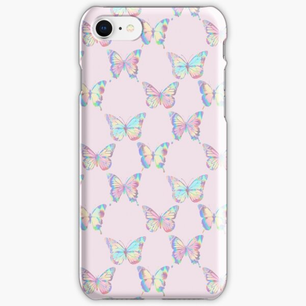 HOLOGRAPHIC BUTTERFLY PATTERN 3 iPhone Snap Case