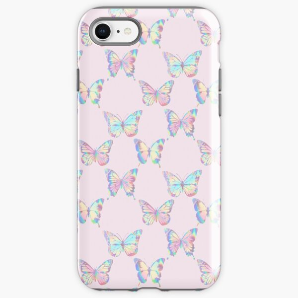 HOLOGRAPHIC BUTTERFLY PATTERN 3 iPhone Tough Case