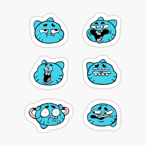 Incroyable Gumball Sticker