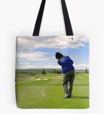 Golf Swing K Tote Bag