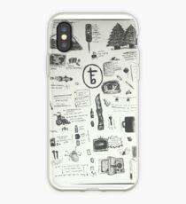 tfb doodles iPhone Case