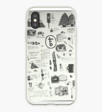 tfb doodles iPhone Case