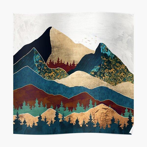 Malachite Mountains Poster