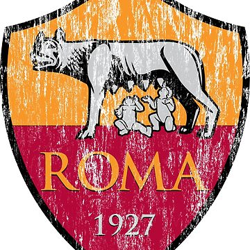 Roma 1927 Distressed Logo - Men's and Women's by boscotjones
