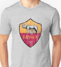 Roma 1927 Distressed Logo - Men's and Women's Unisex T-Shirt