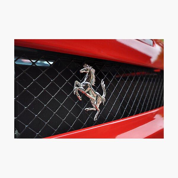Ferrari F430 Prancing rear Photographic Print