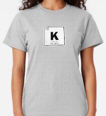 Potassium chemical element Classic T-Shirt
