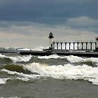 stormy lighthouse by wolf6249107