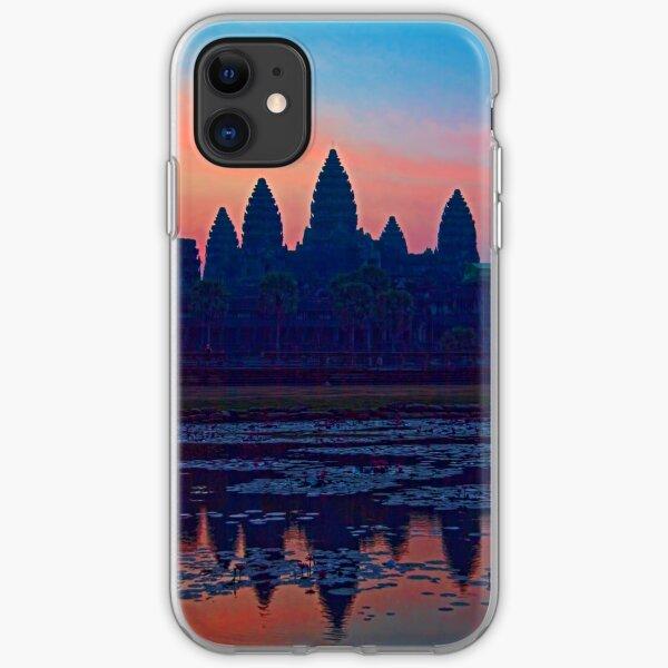Cambodia. Angkor Wat. Sunrise. iPhone Soft Case