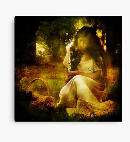 Brokenhearted Canvas Print