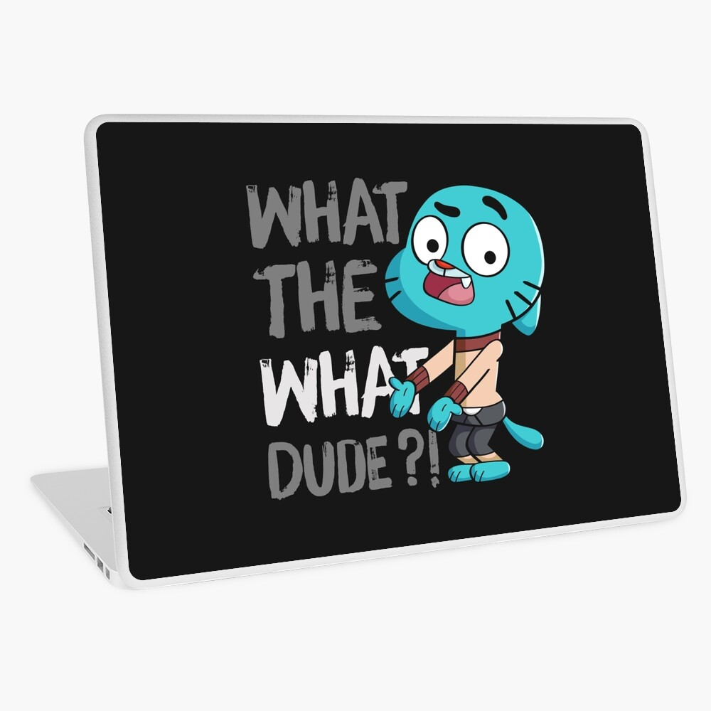 WHAT THE WHAT DUDE ?! Laptop Skin