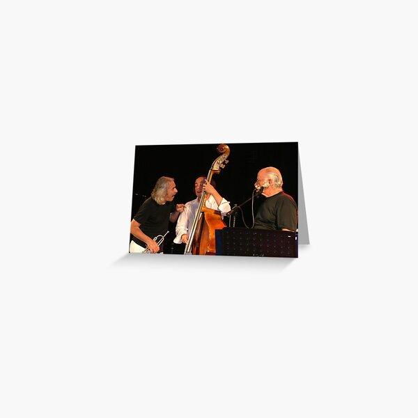 Gino Paoli & Enrico Rava Greeting Card
