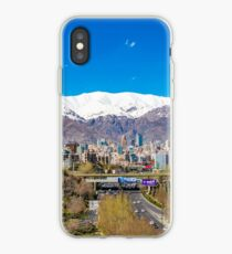 Crystal clear Tehran iPhone Case