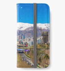 Crystal clear Tehran iPhone Wallet/Case/Skin