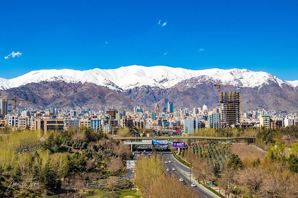 Crystal clear Tehran by Aiin Ojani