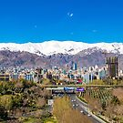 Crystal clear Tehran by Aiin Ojani