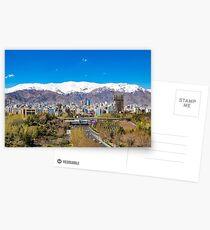 Crystal clear Tehran Postcards
