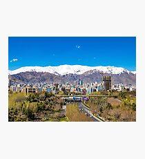 Crystal clear Tehran Photographic Print