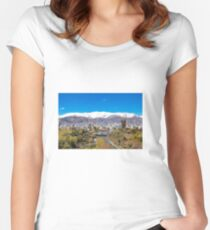 Crystal clear Tehran Fitted Scoop T-Shirt