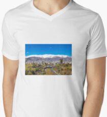 Crystal clear Tehran V-Neck T-Shirt