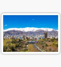 Crystal clear Tehran Sticker