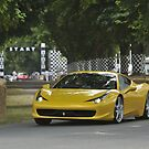 The Ferrari 458 at the Festival of Speed 2010 by M-Pics