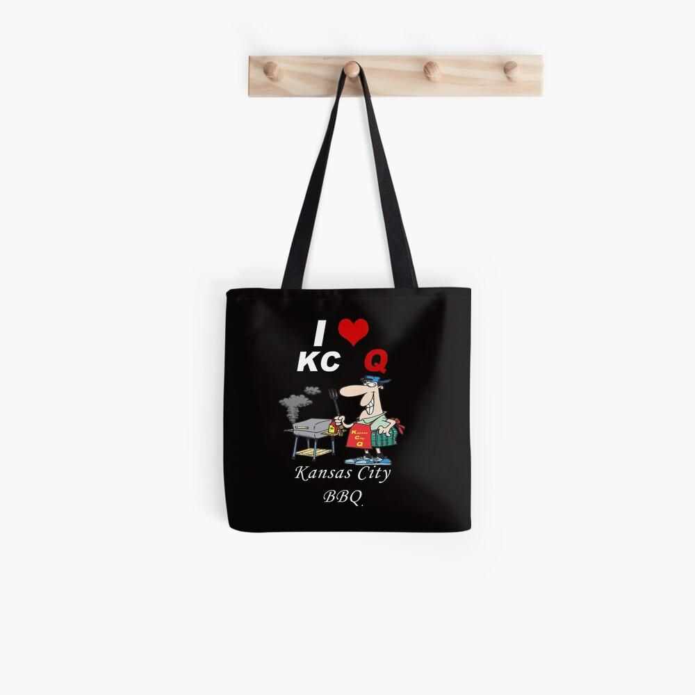 I Love KC Q - Kansas City BBQ Tote Bag
