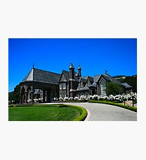 Napa Valley Winery Photographic Print
