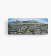 Mullaghmor, The Burren, County Clare - oil painting Metal Print