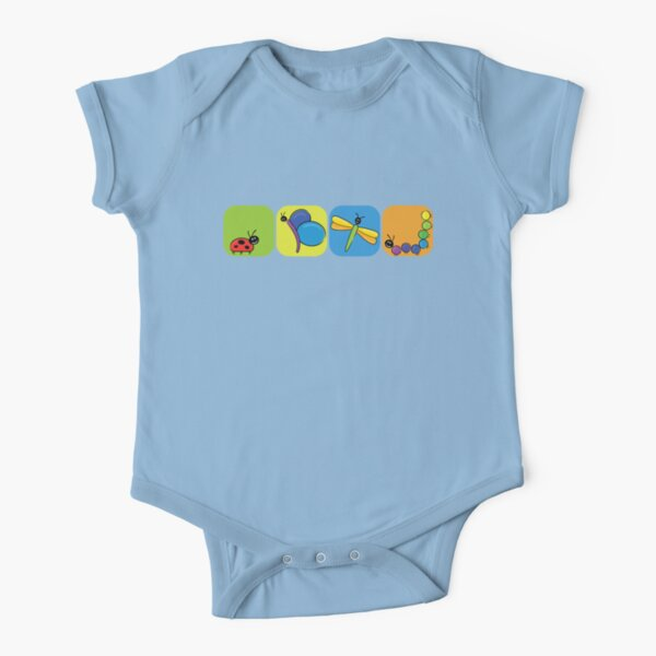 bugs Short Sleeve Baby One-Piece
