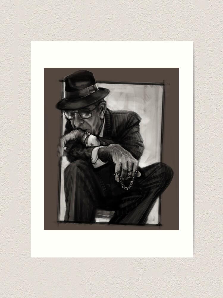Alternate view of Leonard Cohen Art Print