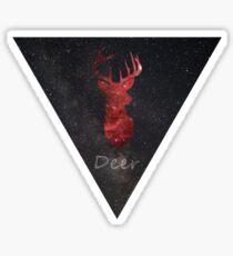Nebula Deer Sticker