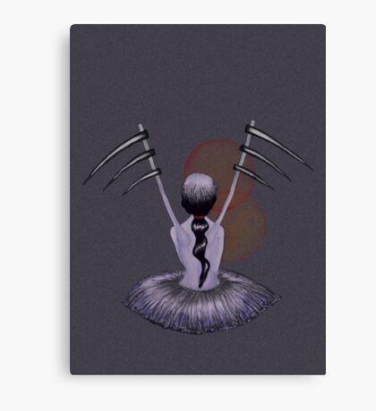Lavender Waiting Canvas Print