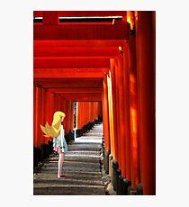 Monogatari – Shinobu Shrine Photographic Print