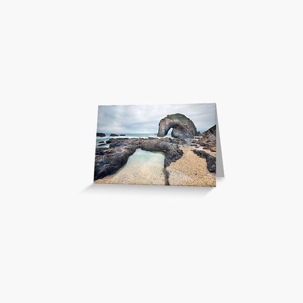 Horsehead Rock Greeting Card