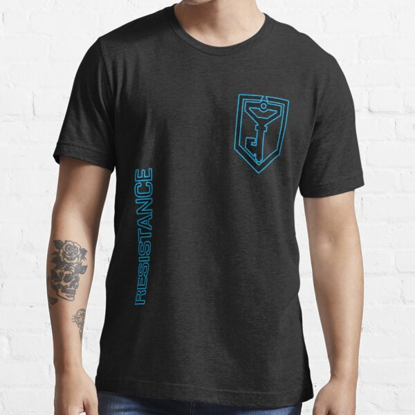 Ingress Resistance - Alt colors with text Essential T-Shirt