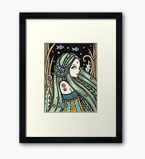 Waterbabe Framed Print