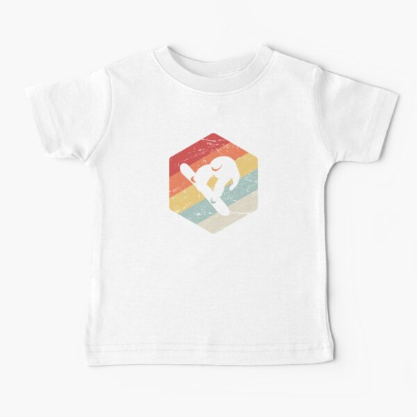 Vintage Snowboard & Snowboarding Gift Baby T-Shirt