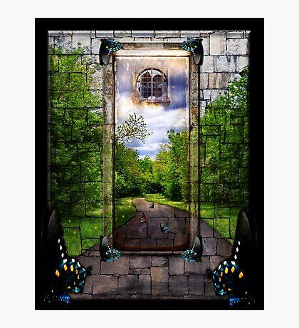 Beyond The Door Photographic Print