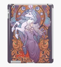 Lady Amalthea - The Last Unicorn iPad Case/Skin