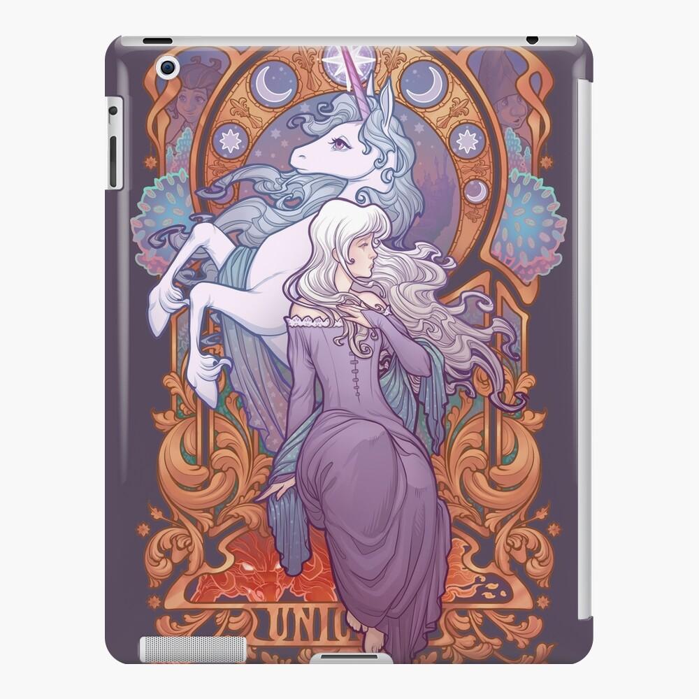 Lady Amalthea - The Last Unicorn iPad Case & Skin