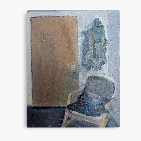 Studio, chair, coat, York Metal Print
