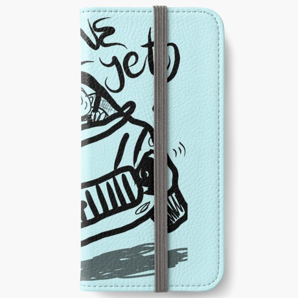 Are we there yet funny family vacation car iPhone Wallet