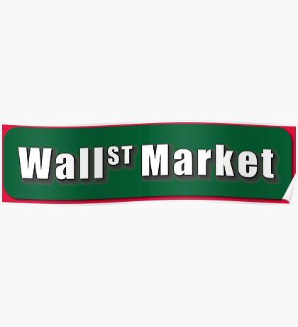 Wall Street Market Poster
