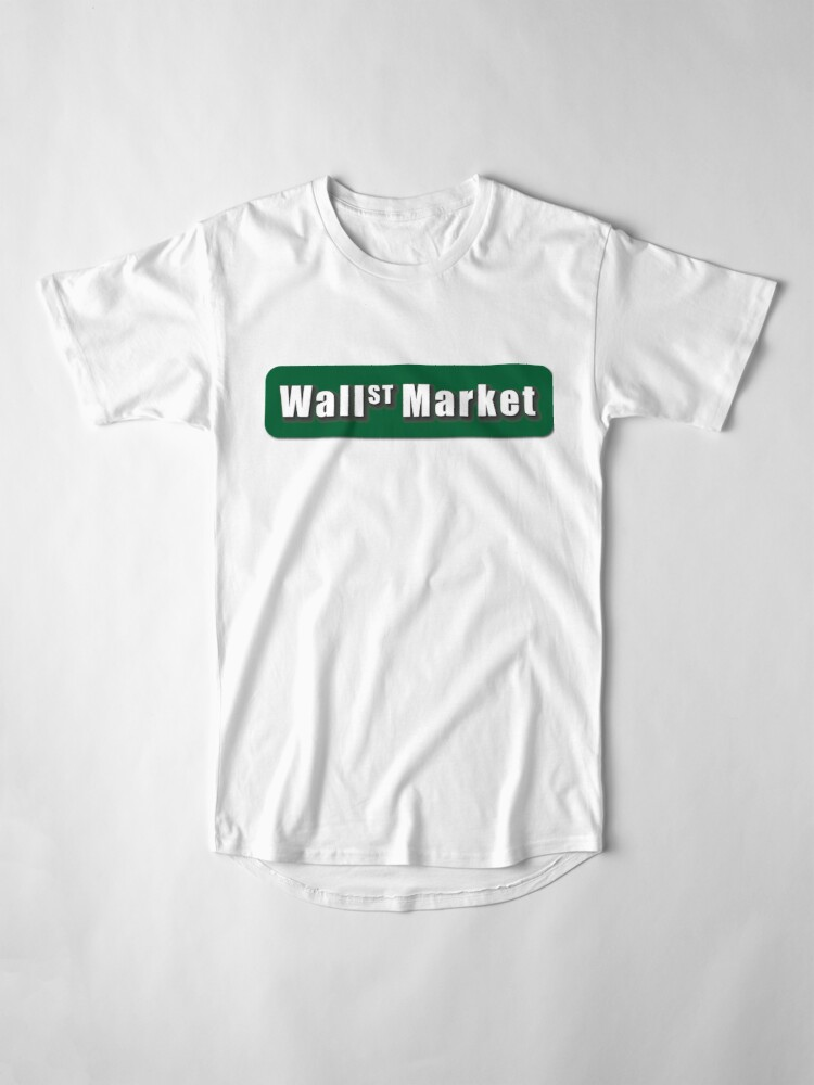 Alternate view of Wall Street Market Long T-Shirt